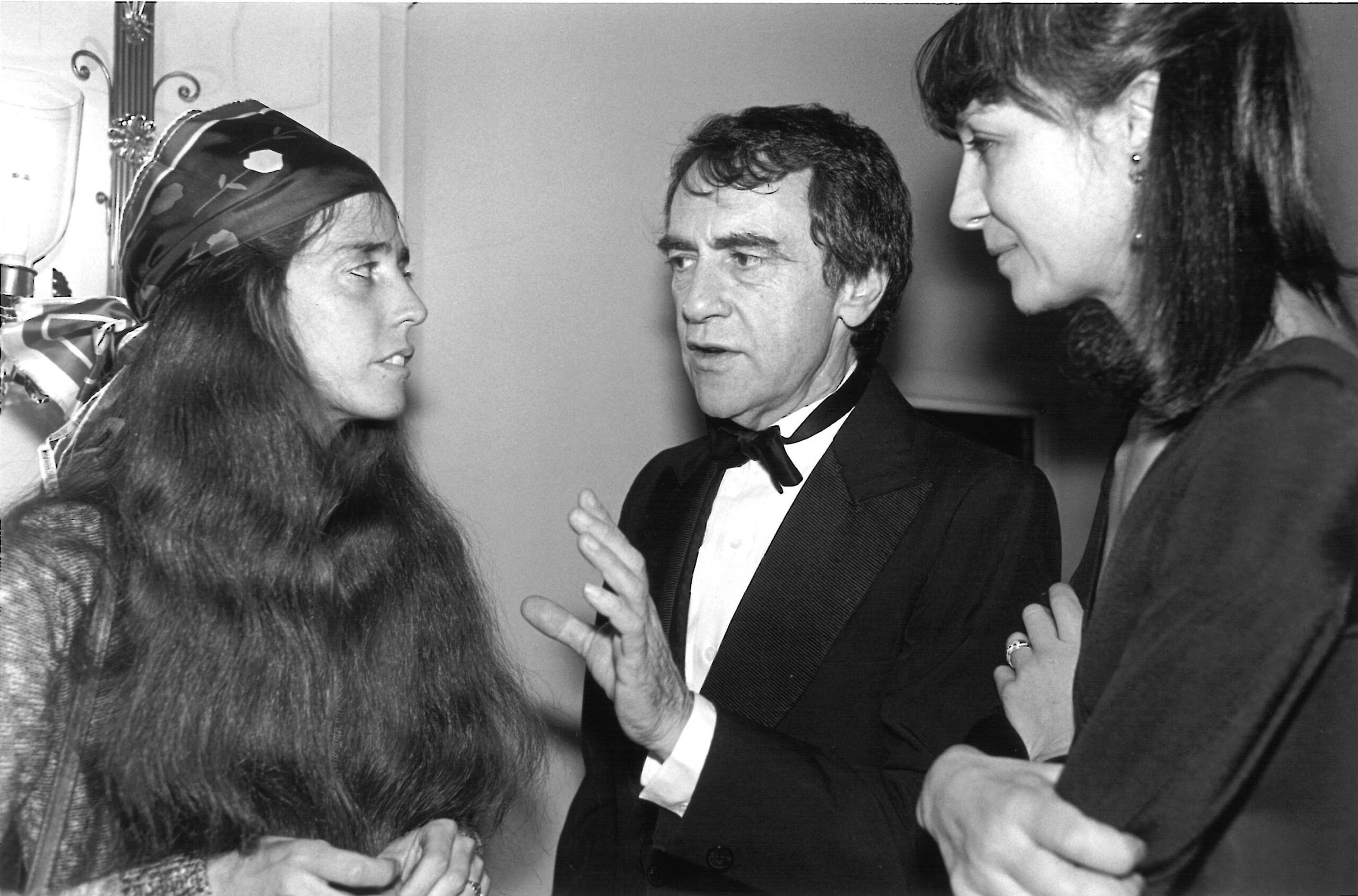 Composer Elizabeth Swados with Joe and Gail, 1978. (Photo: Public Theater)