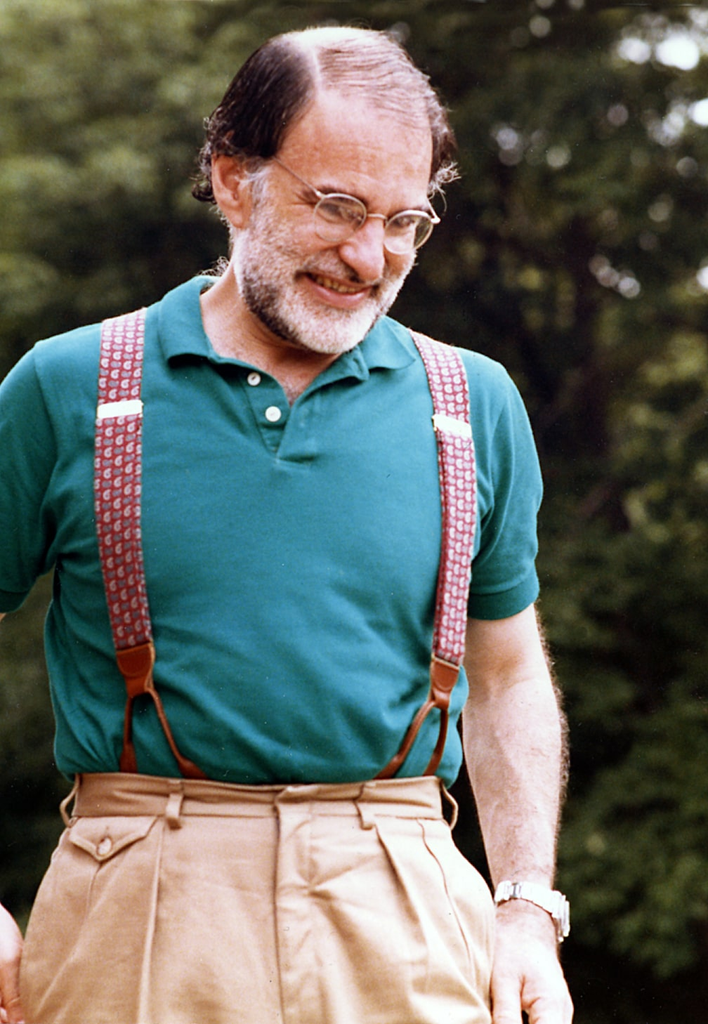 Larry Kramer at cottage
