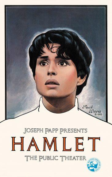 Diane Venora in Hamlet, 1982